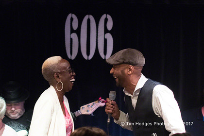 Madeline Bell celebrates her 75th Birthday at the 606 Club 